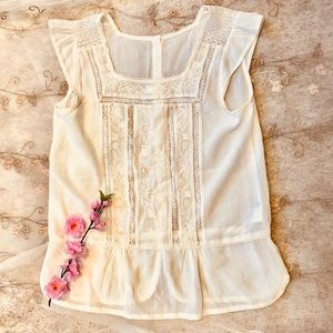 Tops - Lacy Summer Top 2 items for $25- buy 1 get 1 FREE